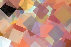 Cuadrados abstractos Imagenes de archivo