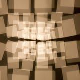 Cuadrados abstractos Foto de archivo libre de regalías