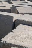 Cuadrados abstractos del cemento Imágenes de archivo libres de regalías