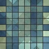 Cuadrados azules Imágenes de archivo libres de regalías
