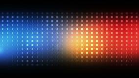 Cuadrados azules y rojos móviles ilustración del vector