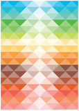 Cuadrados brillantes de las armonías del color del vector Foto de archivo