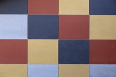 Cuadrados coloreados Imagen de archivo libre de regalías