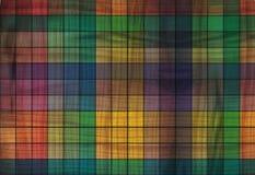Cuadrados coloreados Fotografía de archivo libre de regalías
