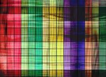 Cuadrados coloreados Imagenes de archivo
