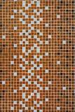 Cuadrados coloreados del mosaico Imágenes de archivo libres de regalías