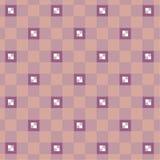 cuadrados coloreados en un fondo rosado Imagen de archivo