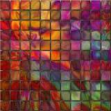 Cuadrados coloridos Fotografía de archivo libre de regalías
