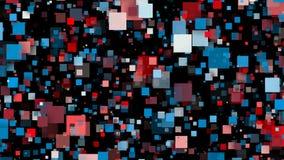 Cuadrados coloridos abstractos Fondo inconsútil de la animación del lazo libre illustration