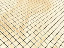 Cuadrados de oro ilustración del vector