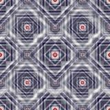 Cuadrados del papel pintado geométrico coloreado del vector del fondo Fotografía de archivo libre de regalías