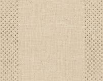 Cuadrados pintados en la materia textil Imágenes de archivo libres de regalías
