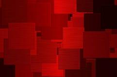 Cuadrados rojos Imagen de archivo libre de regalías