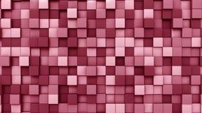 Cuadrados rojos de ocsilación metrajes