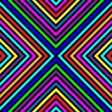 Cuadrados Varicolored, líneas. Modelo inconsútil. Imagen de archivo libre de regalías