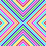 Cuadrados Varicolored, líneas. Modelo inconsútil 2. Imágenes de archivo libres de regalías