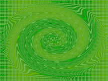 Cuadrados y chigre en verde y amarillo ilustración del vector
