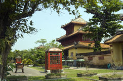 Cuadrilátero interno, palacio imperial fotos de archivo libres de regalías