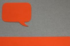 Cuadro de diálogo Imágenes de archivo libres de regalías