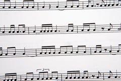 Cuadro de notas musicales fotos de archivo libres de regalías
