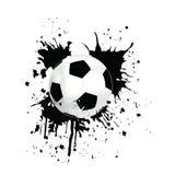 Cuadro de un fútbol Fotografía de archivo