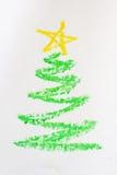 Cuadro del árbol de navidad Fotografía de archivo libre de regalías