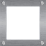 Cuadro del metal, del hierro o marco de la foto Imagen de archivo libre de regalías