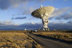 Cuadro del telescopio de radio imagen de archivo libre de regalías