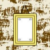Cuadro en blanco Imagen de archivo libre de regalías