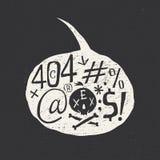 Cuadro 404 error Imágenes de archivo libres de regalías