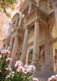 Cuadro labrado - Ephesus antiguo Foto de archivo