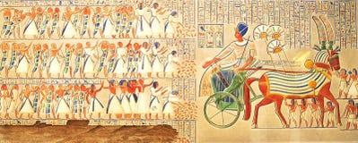 Cuadro misterioso de Egipto antiguo Fotos de archivo libres de regalías