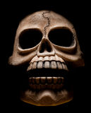 Cuadro oscuro del horror del cráneo Fotografía de archivo