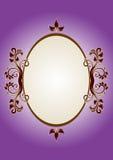 Cuadro púrpura Foto de archivo libre de regalías