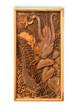 Cuadro tallado del trabajo hecho a mano Imágenes de archivo libres de regalías