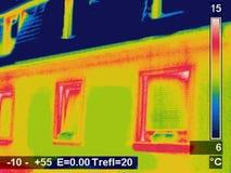 Cuadro termográfico Fotografía de archivo libre de regalías