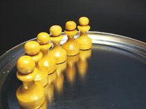 Cuadros 14 del ajedrez Imagenes de archivo