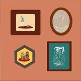 cuadros stock de ilustración