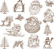 Cuadros de la Navidad Imagen de archivo