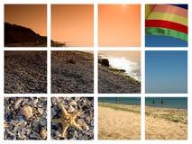 cuadros de la playa de Bulgaria Imagen de archivo