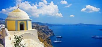 Cuadros de Santorini Imagen de archivo
