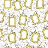Cuadros en blanco Imágenes de archivo libres de regalías