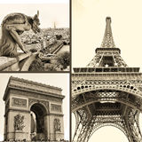 Cuadros parisienses Fotos de archivo