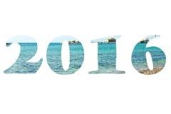 Cuadros 2016 sobre el mar Mediterráneo de la orilla del guijarro Puerto en los vagos Imágenes de archivo libres de regalías