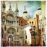 Cuadros venecianos foto de archivo libre de regalías