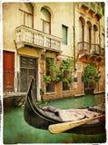 Cuadros venecianos Fotos de archivo