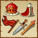 Cualidades de la autoridad y del poder reales, sistema del rey libre illustration