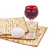 Cualidades del comandante de los días de fiesta judíos de Seder de la pascua judía fotografía de archivo
