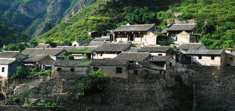 Cuandixia village. In suburban district of Beijing,it is built up in Ming Dynasty stock images