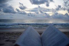 Cuando la visión es más interesante que el libro imagen de archivo